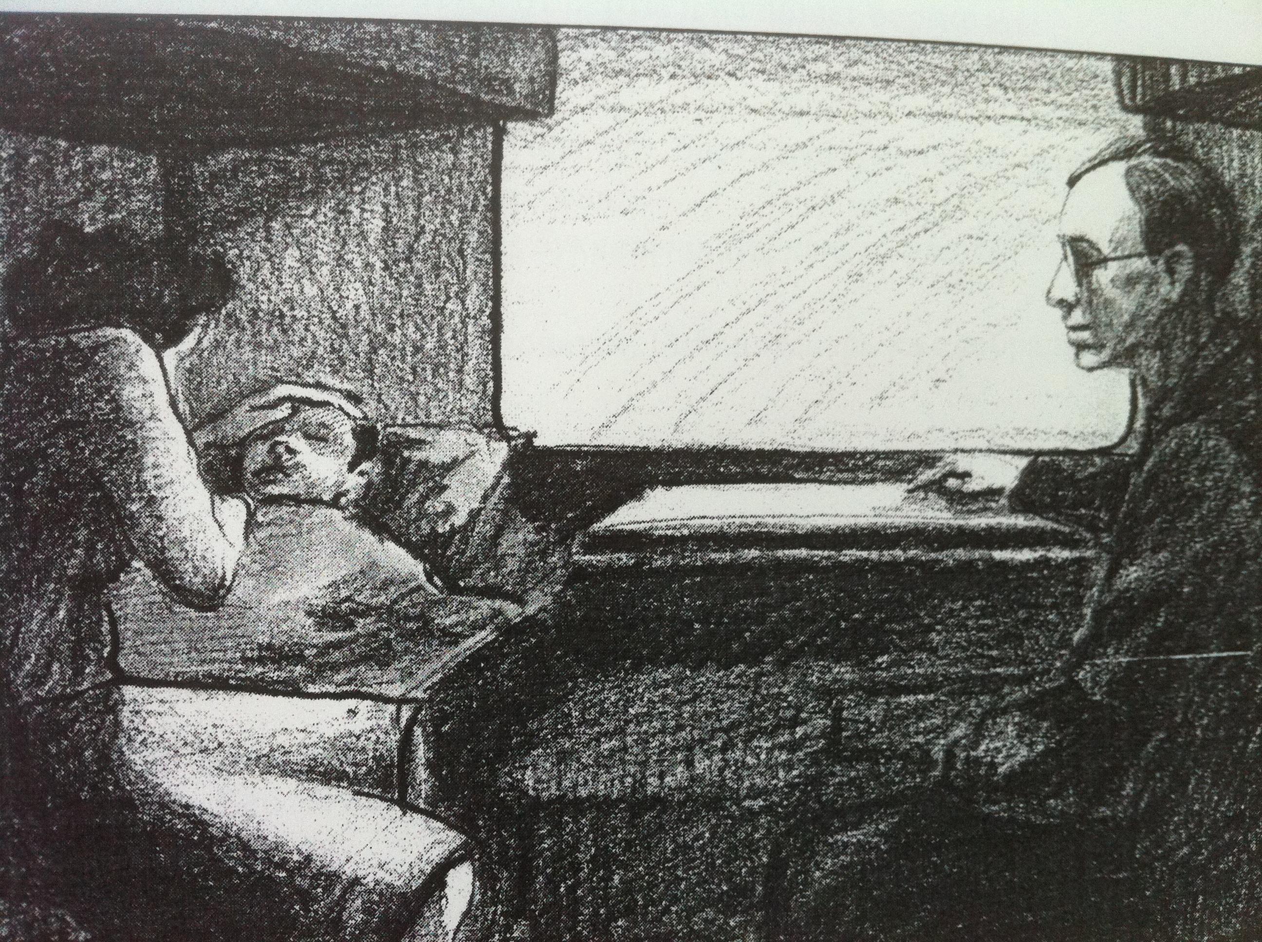 Член мальчика медленно входил в письку девочке